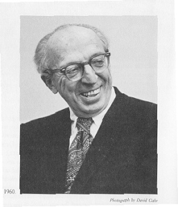 A picture of Aaron Copland