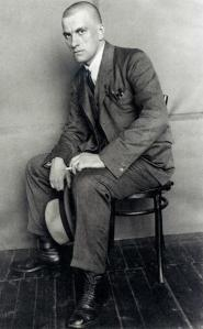 A picture of Mayakovsky
