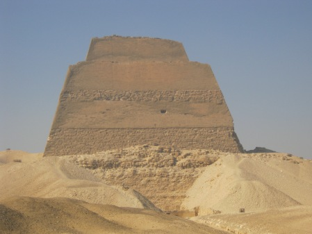 Prototype and partly-collapsed pyramid of Snerefu, c2600 BC