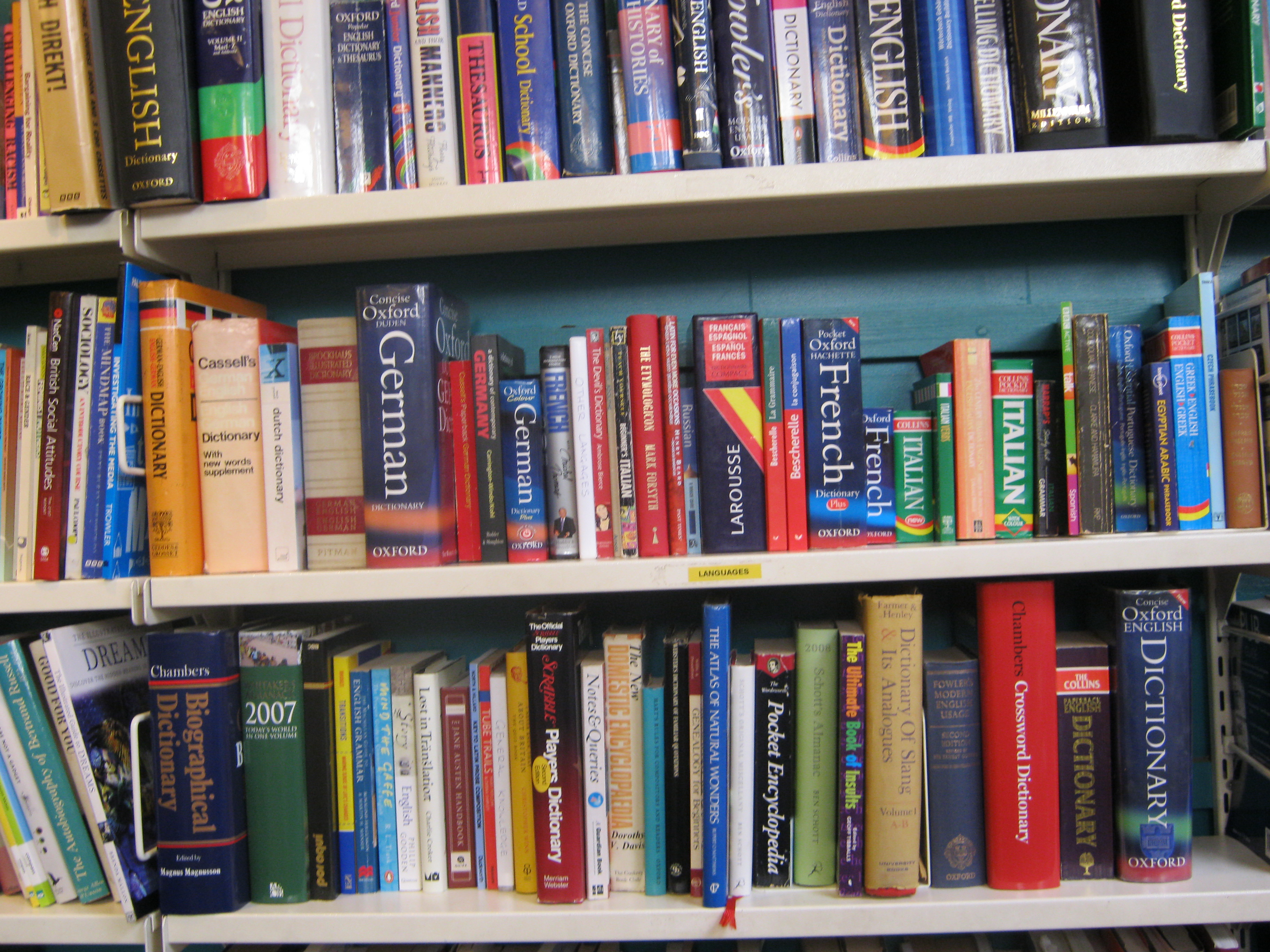 Foreign Language Books In London's Charity Bookshops: Oxfam ...