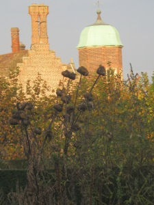 Madingley Hall in the Autumn sunshine