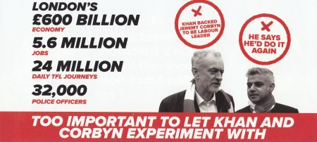 A flyer I was sent from 'CCHQ'